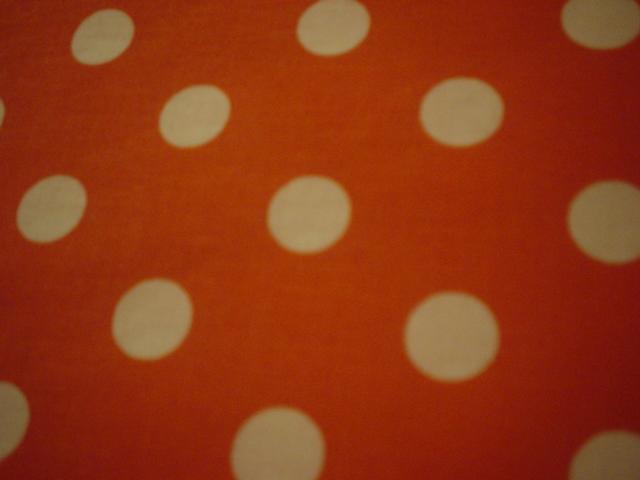 orange large dots