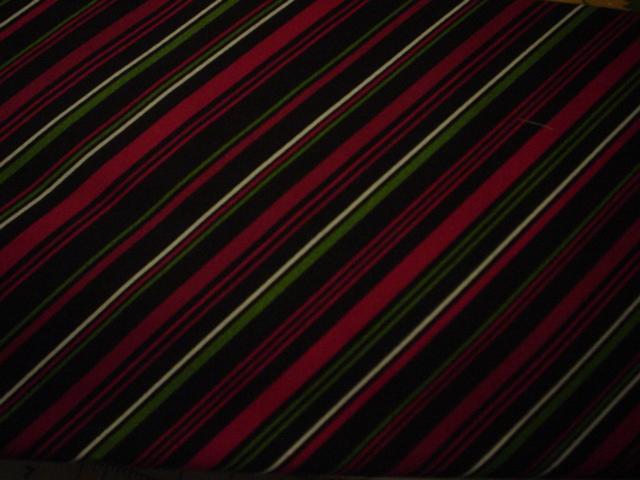 black red stripes