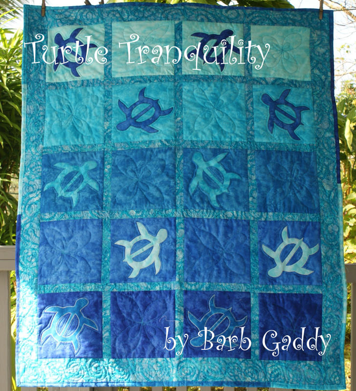 Turtle Tranquiltity pattern