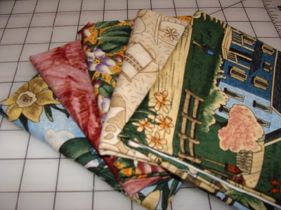 Bed n Breakfast    5 piece fat quarter bundle-bed n breakfast