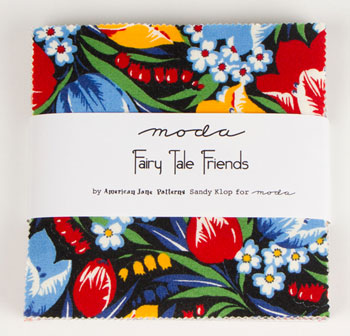 Fairy Tale Friends Charm Pack-Fairy Tale friends by american jane patterns sandy klop for moda
