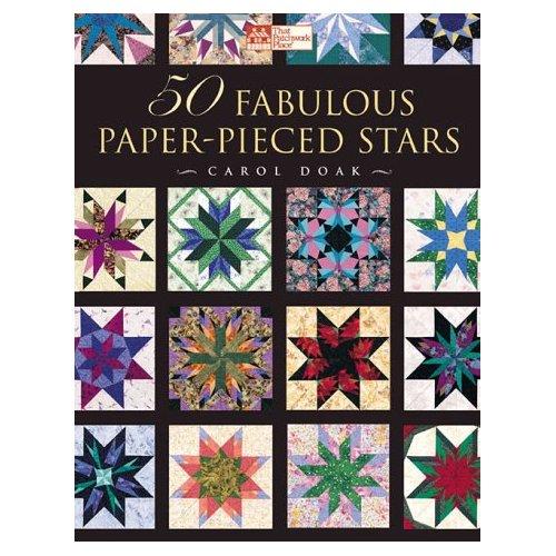 50 Fabulous Paper-Pieced Stars-50 Fabulous Paper-Pieced Stars Carol Doak