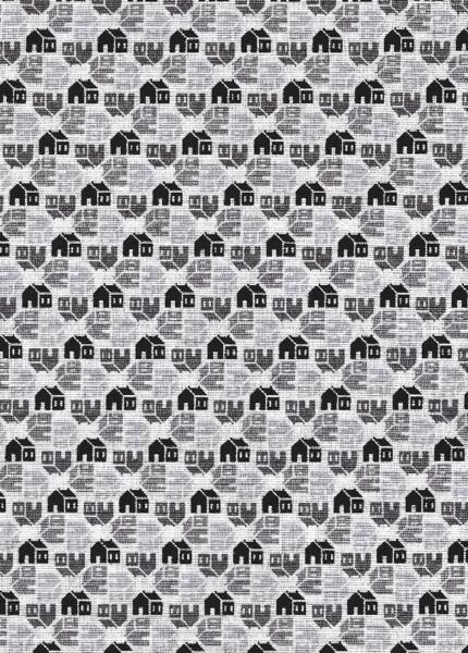 Home Again - white w houses-Riley Blake Designs, Penny Rose Fabrics Home Again