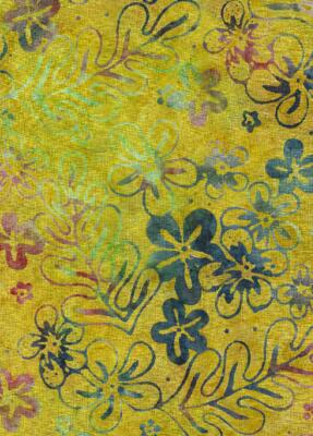 Java Batiks- Citrus, C110-Java Batik Citrus Yellows Oranges