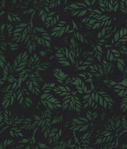 Java Batiks-Green, G100-Java Batiks green dyed cloth