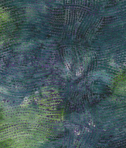 Java Batiks-Green, G102-Java Batiks green dyed cloth