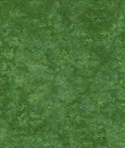 Java Batiks-Green, G106-Java Batiks green dyed cloth