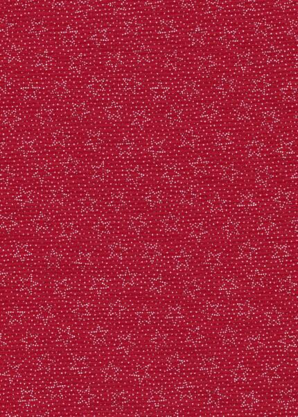 Patriotic Print - White dot/stars on red-patriotic print red white stars dots