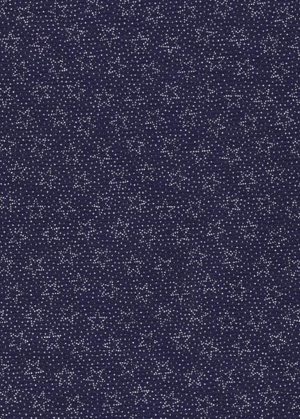 Patriotic Print - Navy with white dots and stars-patriotic print navy white dots stars