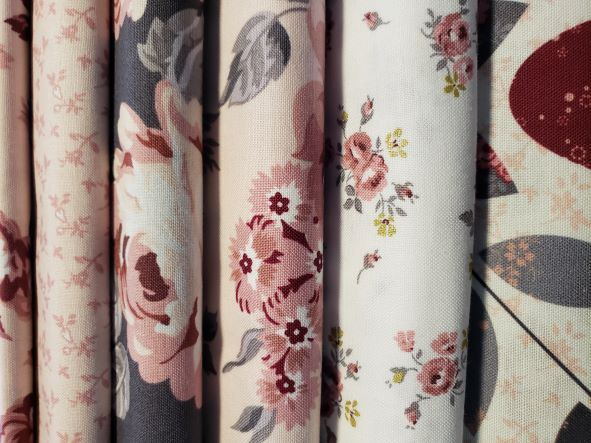 Bundle of Exquisite-Riley Blake Exquisite by Gerri Robinson 5 yard bundle precut