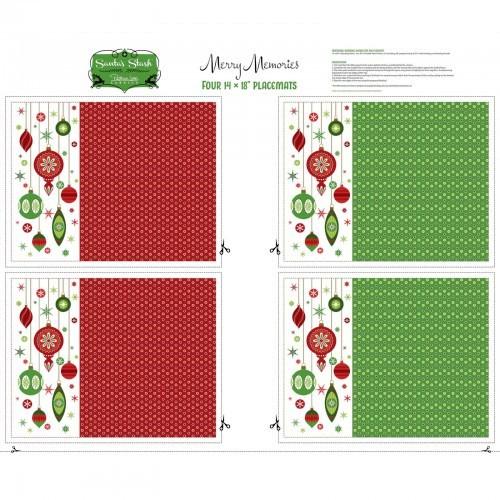 Holiday Placemats - Santa's Stash series-