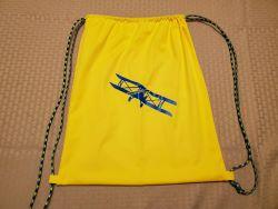 Cinck Sak yellow with plane-