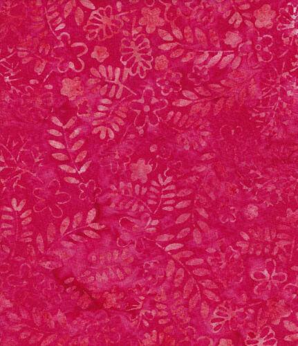 Java Batiks-Rose, R107-Java Batiks Rose dyed prints