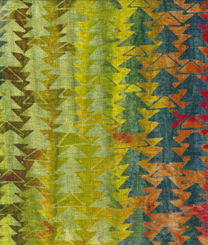 Java Batiks-Rose, R112-Java Batiks Rose dyed prints