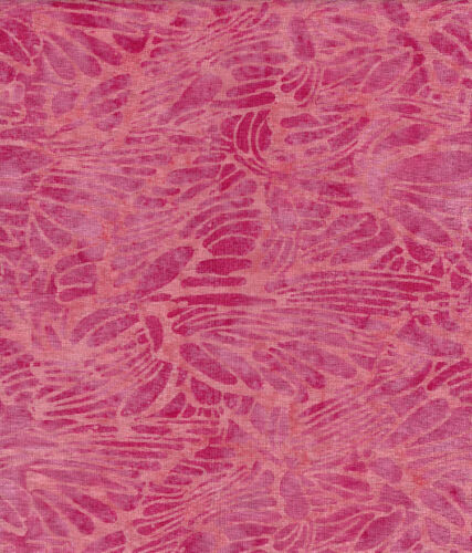 Java Batiks-Rose, R115-Java Batiks Rose dyed prints