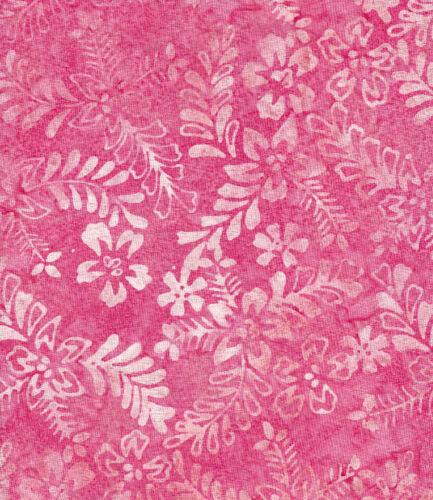 Java Batiks-Rose, R116-Java Batiks Rose dyed prints