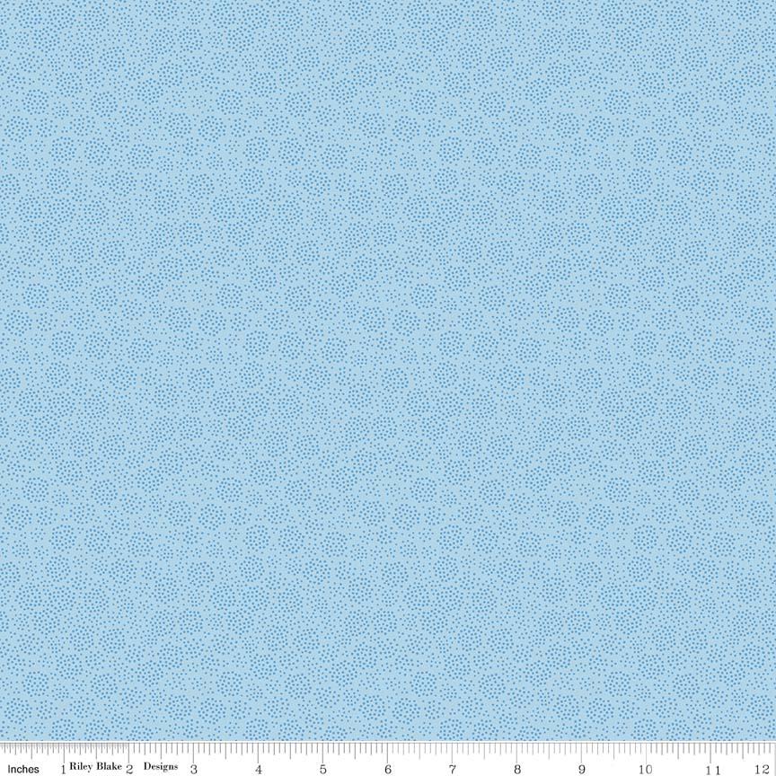 Parade on Main - blue -mini dots-Riley Blake, Parade on Main, light blue