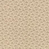 Petite Prints, Oyster-Petite Prints by French General for Moda. Oyster with tan floral design.