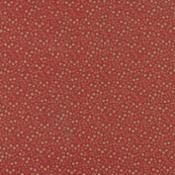 Petite Prints, Red-Petite Prints by French General for Moda. Red  with tan floral design.