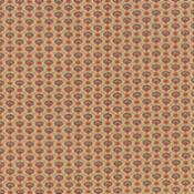 Petite Prints, Faded Red-Petite Prints by French General for Moda. Faded Red with brown floral grid design.