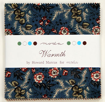 Collections Warmth Charm Pack-Collections Warmth Charm Pack by howard marcus for moda