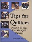 Tips for Quilters-tips for quilters by by F&C publishing