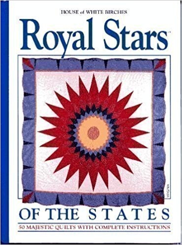 Royal Stars of the States 50 Majestic Quilts-royal stars of the states by house of white birch