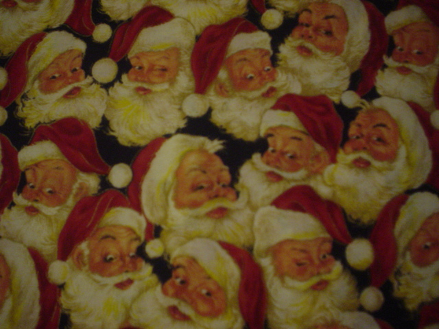 Christmas Santa-red, christmas, santa, faces, vip
