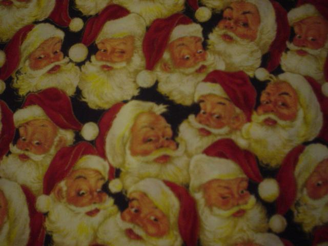 Christmas Santa-red, christmas, santa, faces, vip