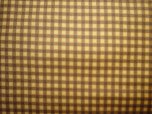 AWTY  Brown Check-Basic Beautiful. Brown Check