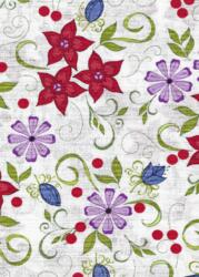 Home Again - white w flowers-Riley Blake Designs, Penny Rose Fabrics Home Again