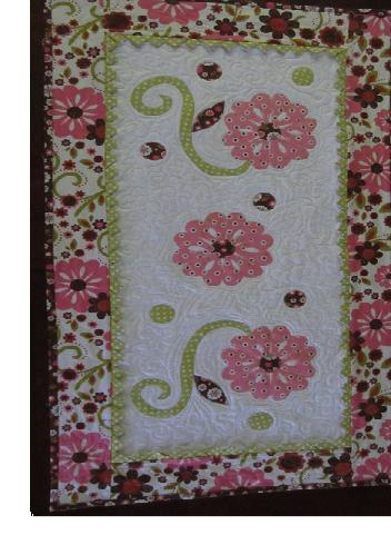 Indian Summer Table Topper by Barb Gaddy-Indian summer table topper