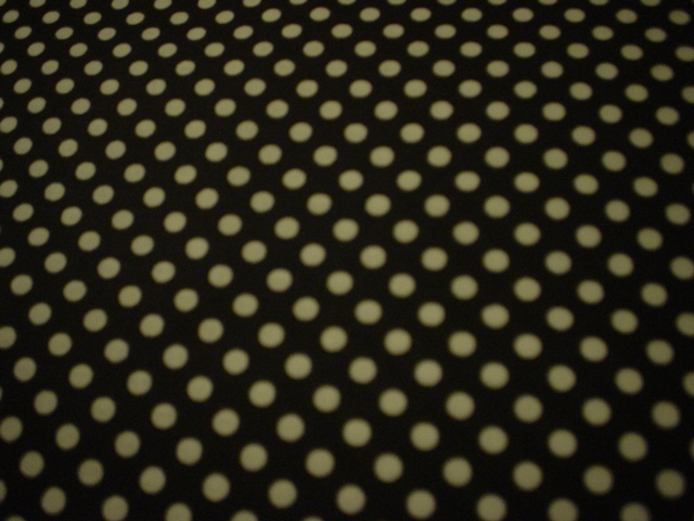 Black/Small White Dots-halloween, black, white dots