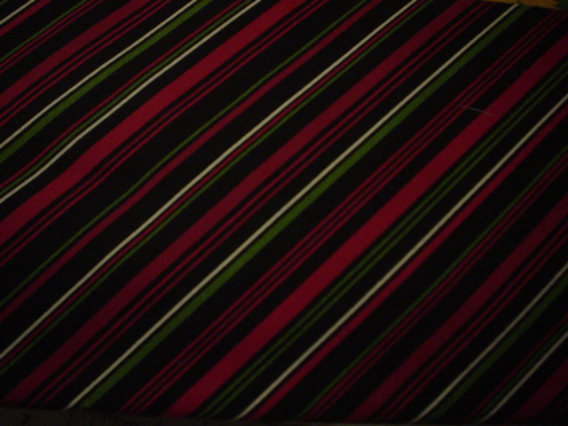 Christmas Classics Black Red Green Stripes-maywood studio, black, red, green, white sripes christmas classics
