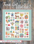 Farm Girl Vintage 2-Farm Girl Vintage 2 by Lori Holt of a Bee in my Bonnet for It's Sew Emma brings even more quilt blocks and projects for all Farm Girl Vintage fans to enjoy. Lori has rounded up 45 unique 6 and 12 quilt blocks inspired by her rural roots. She has also designed 13 new projects in this book, including quilts, pillows, a pincushion, and of course a fantastic new sampler quilt! As always, quilters can mix and match quilt blocks from Lori's previous books, so they can piece together endless possibilities. Farm Girl Vintage 2 is wonderful for classes, swaps, and retreats. Quilt shops can also bundle them with Lori Holt's other books, such as Farm Girl Vintage, Spelling Bee, and Vintage Christmas.
