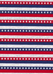 Patriotic Prints - stripes with stars-patriotic print stripes stars red white blue