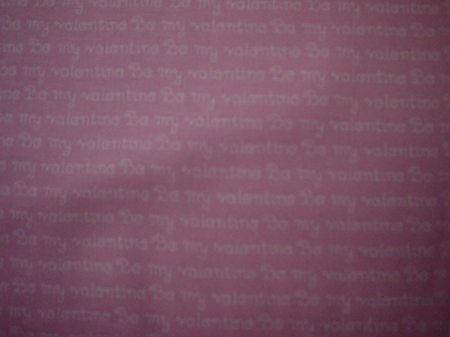 Valentines Day Be My Valentine Pink-Valentine's Day: Be My Valentine, Pink 100% Cotton Print 44/45 width. 