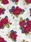 Go to the Sea-White w red flowers-Riley Blake Penny Rose Harry Alice Go Sea Amanda Herring nautical prints