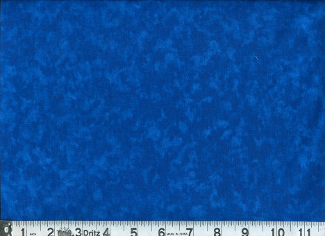 QUILTERS CALICO BLUE-45 TONAL CALICO - BLUE  100% COTTON 1ST QUALITY   THE DESIGN IS AN ALL OVER SMALL VINE AND LEAVES. THIS PICTURE IS A REPRESENTATION OF THE COLOR ONLY.