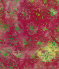 Java Batiks-Rose, R109-Java Batiks Rose dyed prints