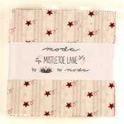Mistletoe Lane CP-mistletoe lane charm pack by bunny hill designs for moda