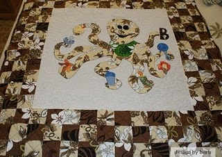 Octopus Baby Quilt Pattern-