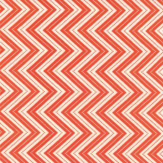 Wrens Friends Oragne Chevrons-wrens friends gina martin moda chevron orange tangerine