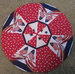 Patriotic Topper by Barb Gaddy-patriotic table topper by barb gaddy